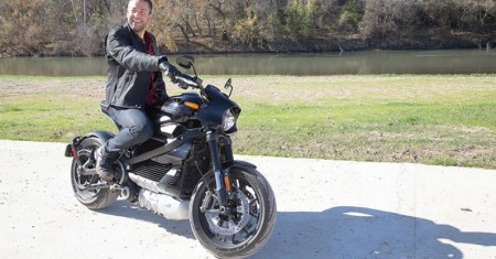 First Impressions: Zachary Levi on the Harley-Davidson LiveWire Electric Motorcycle