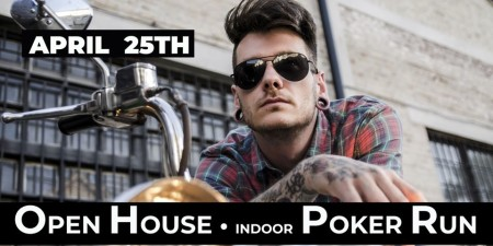 Open House & Indoor Poker Run