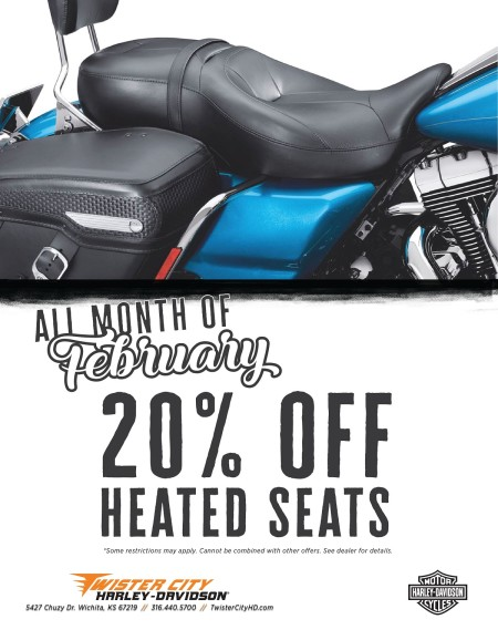 20% OFF HEATED SEATS IN FEBRUARY!