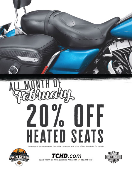 Get 20% off Heated Seats in February!