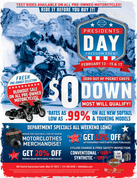 Presidents Day Freedom Event