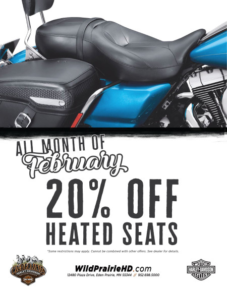 20% off Heated Seats!