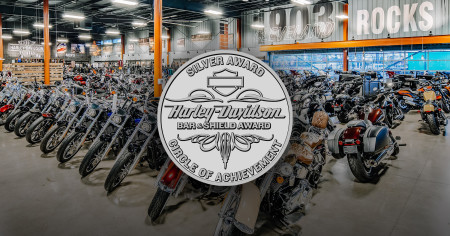 Rock-n-Roll City Harley-Davidson Awarded Silver Bar & Shield for 2019