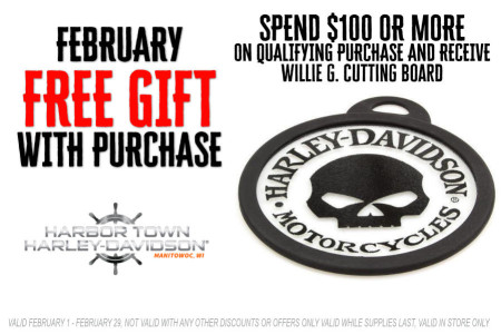February Free Gift With Purchase