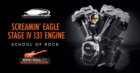 School of Rock: Screamin' Eagle 131 Engine Build