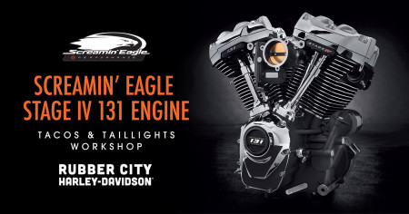 Tacos & Taillights: Screamin' Eagle 131 Engine Build