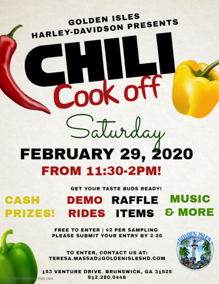 Golden Isles Chili Cook Off