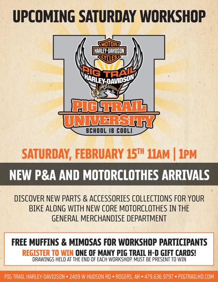 Pig Trail University - New P&A Collections + New Core MotorClothes