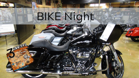 Bike Night! 3rd Thursdays of the Month