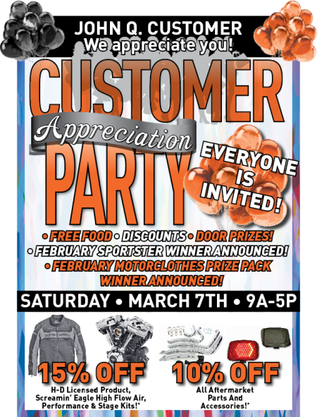 HDCS Customer Appreciation Party