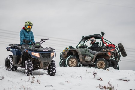 Starting and Maintaining Your ATV in Freezing Temperatures