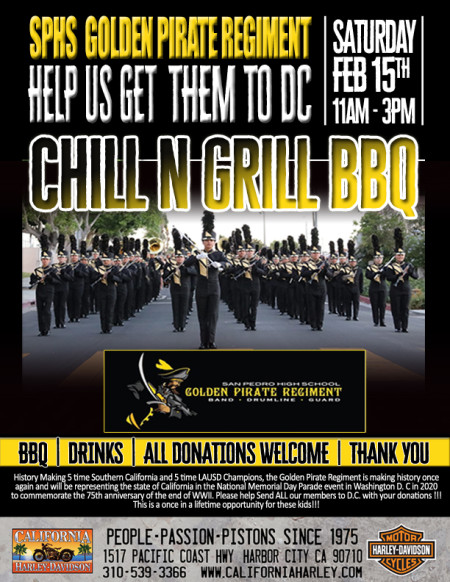 Chill N' Grill - Help us get SPHS Golden Pirate Regiment to DC