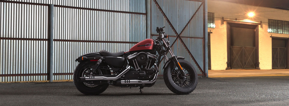 Harley-Davidson<sup>®</sup> Forty-Eight<sup>®</sup> 2019 XL 1200X 420541U-LE WICKED RED DNM