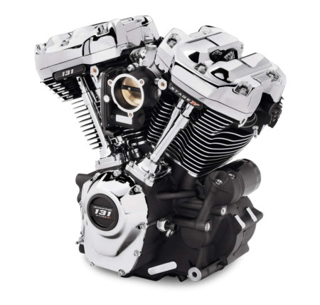 Power upgrade with the new Screamin' Eagle 131 Crate Engine