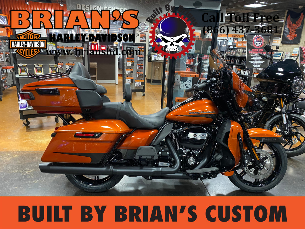 New 2020 Customized Ultra Limited Electra Glide FLHTK Harley-Davidson®