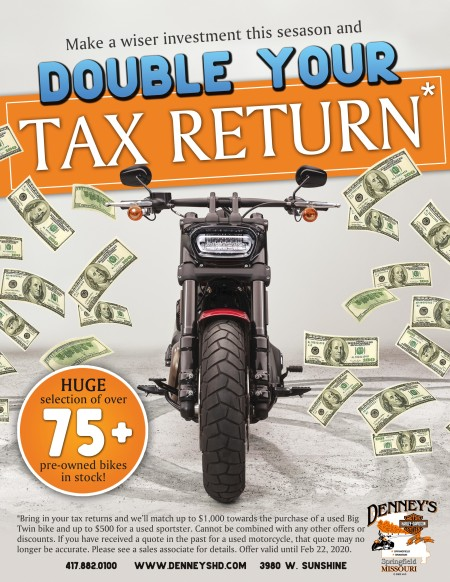 Double Your Tax Return!