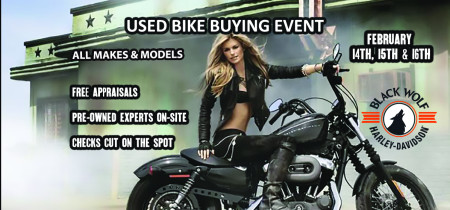 Used Bike Buying Event