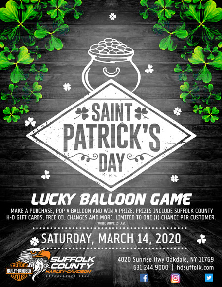 Saint Patrick's Day Lucky Balloon Game