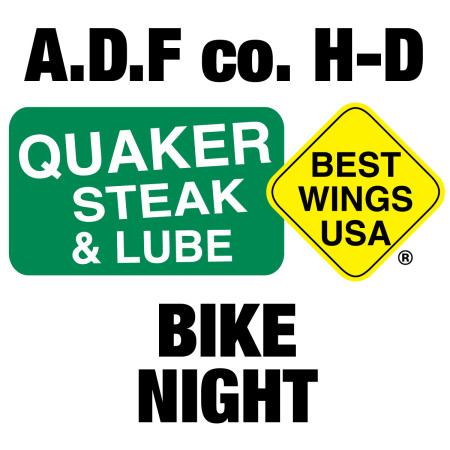 Quaker Steak Bike Night!