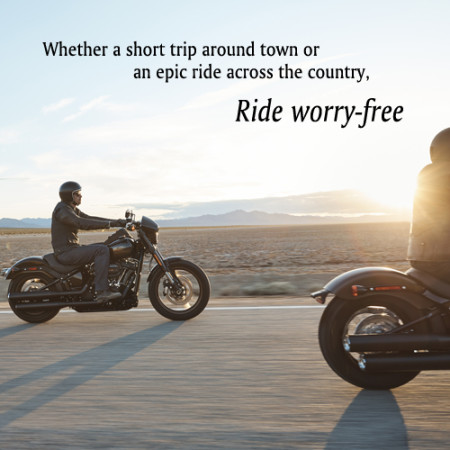 Ride Worry-free H-D Extended Service Plan Promo