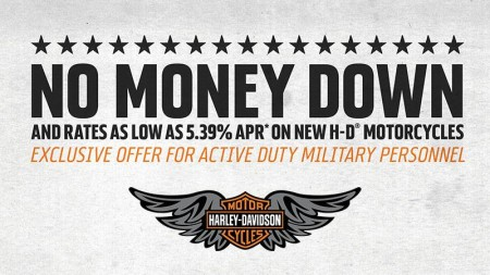 Harley-Davidson - Stateside Active Military Financing Program HARLEY-DAVIDSON - STATESIDE ACTIVE MI
