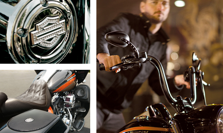 Shop for genuine H-D® parts right here and now on our online store.
