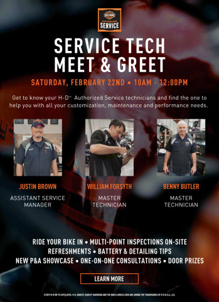 Service Tech Meet & Greet