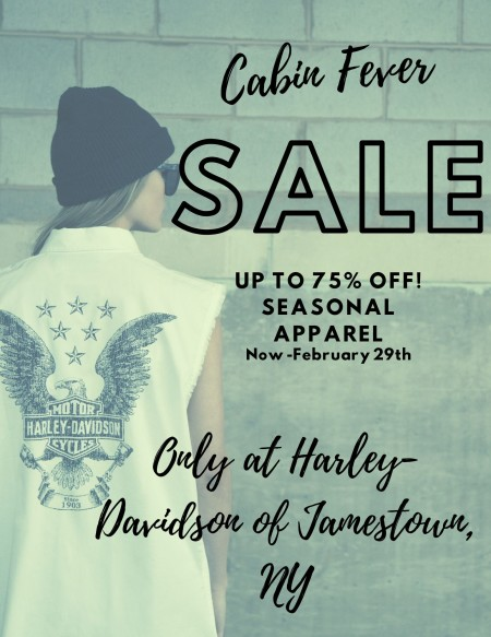 Up to 75% off End of Seasonal Apparel