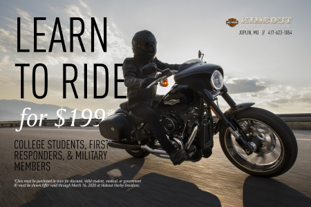 Learn to Ride for Less
