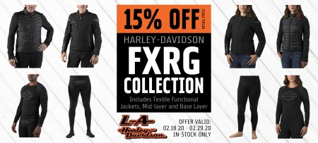 15% Off H-D FXRG Collection