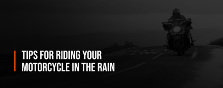 Tips for Riding A Motorcycle in the Rain