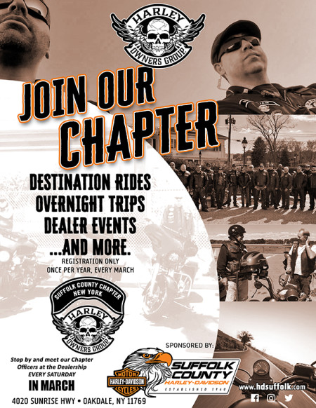 Join the Suffolk County H.O.G. Chapter