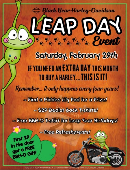 Leap Day Event