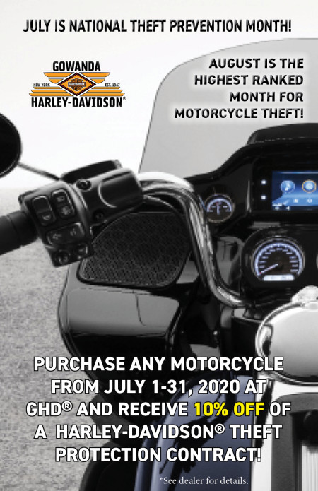 10% OFF H-D THEFT PROTECTION