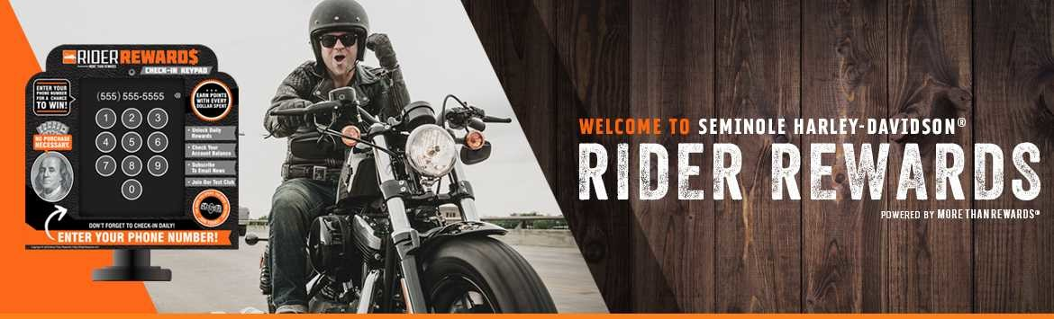 Earn points with Rider Rewards