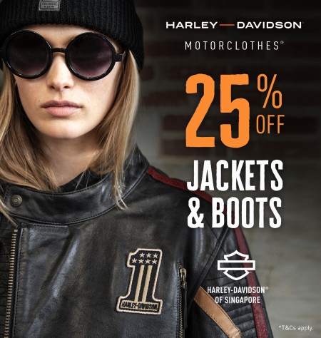 25% off selected MotorClothes