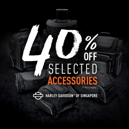 40% off selected Accessories