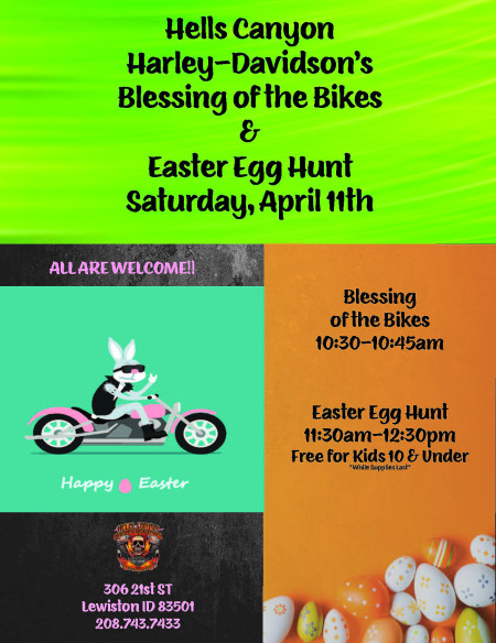 Blessing of the Bikes & Easter Egg Hunt | Hells Canyon H-D®