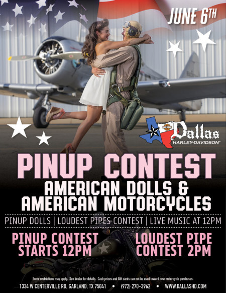 American Dolls & American Motorcycles Pinup Contest!