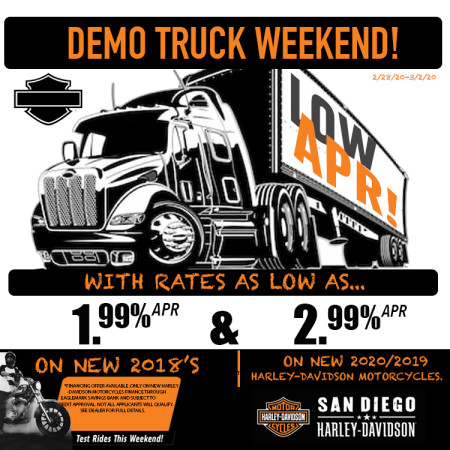 LEAP YEAR/DEMO TRUCK CELEBRATION!
