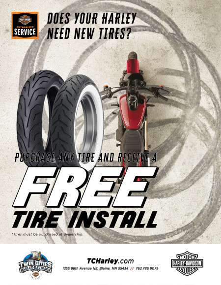 Free Tire Installation!