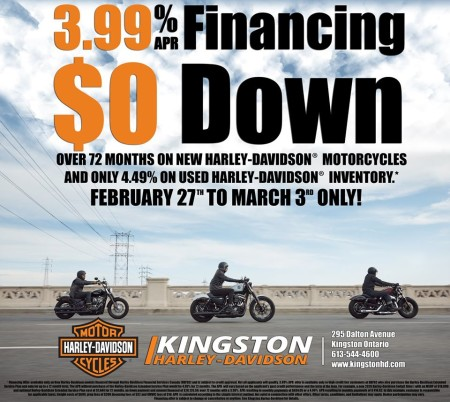 Limited time only finance rates!