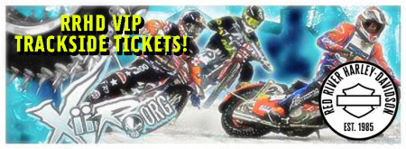 Xtreme International Ice Racing VIP TICKETS - Event Sponsored by Red River H-D