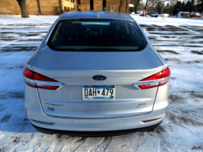 2019 FORD FUSION SEL FWD thumb 0