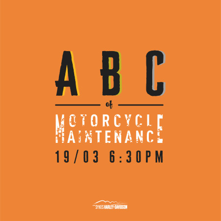 ABC of Motorcycle Maintenance