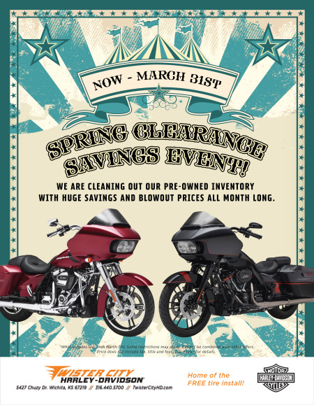 Spring Clearance Savings Event