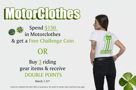 MotorClothes March Promo