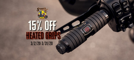 15% Off Heated Grips