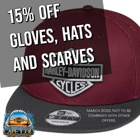 15% OFF Hats, Gloves and Scarves
