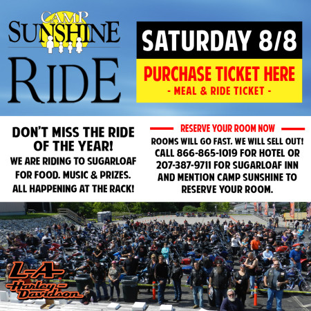 Camp Sunshine Ride 2020